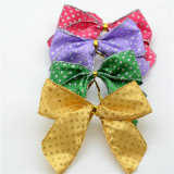 おもちゃの人形ボックスPackage&#160のためのワイヤーが付いているリボンの弓;