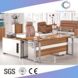 Muebles modernos de forma recta Oficina Tabla con patas de metal (CAS-MD18A12).
