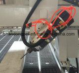 4axis met de Wisselaar van het auto-Hulpmiddel voor het Maken van tot Meubilair de Houten CNC Machine van de Router