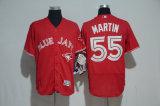 Ha personalizzato tutto il nome qualunque no. Qualsiasi pullover di baseball del Martin della colonna del Toronto Blue Jays Stroman di marchio della squadra