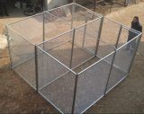 PVC Coated 4X4 5X5 6X6 Welded Wire Mesh Fence/Euro Fence, Hot Dipped Galvanized Chain Link Fence