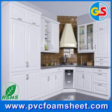 PVC Plastic Interior Door / White 17mm PVC Celuka Foam Board para Teto