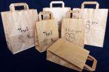 Drogheria del sacchetto di acquisto del sacchetto della carta kraft di cerimonia nuziale del regalo della caramella