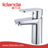 Zeitgenössisches Brass Single Handle Lavatory Faucet mit Chrome