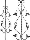 ドアの装飾、錬鉄の装飾、錬鉄のコンポーネント