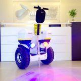 Équilibre de 2 roues sablant le scooter électrique