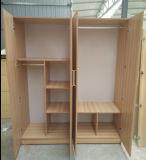 China-Hersteller-gute hölzerne Möbel-preiswerter Garderoben-Wandschrank