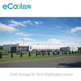 Armazém e fábrica de processamento frios de mantimento frescos personalizados grande tamanho para vegetais e frutas