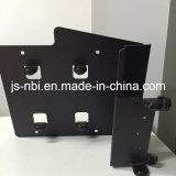 La pièce de fabrication pour la machine personnalisée avec la poudre noire a enduit