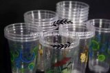 Plastic Koppen voor Bel/Thee Boba, Milkshaken & Bevroren Cocktails