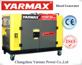 Fornitore di Yarmax! Generatore diesel silenzioso raffreddato ad acqua 12kVA 10kVA di inizio elettrico superiore di vendita
