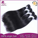 8Un grado de calidad superior en línea recta cabello virgen peruana tejer