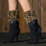 卸し売りモヘアの女性のフィートのソックスの冬の足のウォーマー