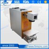 20Wステンレス鋼、金属、ABS、プラスチックファイバーレーザーのマーキング機械