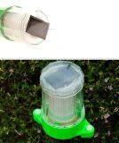 Lampe à gazon solaire à lumière blanche sans poteau de lampe