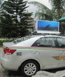 屋外の熱い販売のタクシー上の防水LEDのスクリーン