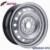 Серебряный стальной обод колеса для легковых автомобилей (15X6J 5/114.3)