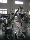 Máquina de enchimento do eixo helicoidal para o pó
