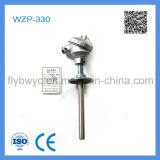 Detector de temperatura de resistência PT100 de flange ajustável Wzp-330