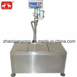 L'étanchéité de remplissage de pesage à fonctionnement semi-automatique de la machine pour l'huile de lubrification