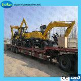 Venta caliente máquina excavadora ruedas excavadora multifunción con LC80W