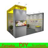 Kundengerechte bewegliche u. Re-Configurable Messeen-Ausstellung-Bildschirmanzeige-Stand-Auslegung