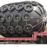 Evergreen Marine flotando guardabarros de goma de neumáticos