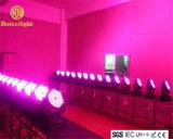 단계 당을%s 108PCS X3w LED 염색 이동하는 맨 위 광속