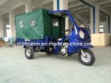 150/200cc 3車輪のオートバイ、乗客のキャンバス(TR-16)が付いている貨物三輪車