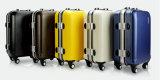 2018 Новейший стиль ABS+ПК тележка багажа/алюминия мешок для багажного отделения