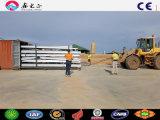 La costruzione prefabbricata dell'edificio scolastico della struttura d'acciaio alloggia le strutture del riparo