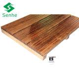 Плитка настила новой конструкции Bamboo с бамбуком сплетенным стренгой