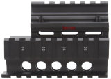 Het vector Spoor van de Vierling van Picatinny Ak Handguard van de Optica Tactische Compacte met RubberDekking voor MiniPistool Ak
