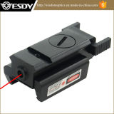 Tactical 20mm Picatinny Weaver Rail Pistol Red DOT Laser Sight