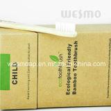 Brosse à dents en bambou respectueuse de l'environnement (WBB0803-IC)