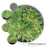 Césped artificial barato residencial de la hierba de alfombra del césped de China