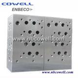 Bloques de válvulas colectoras de circuitos integrados hidráulicos