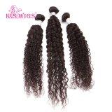 Natuurlijke Zwarte Jerry Curly Brazilian Hair 100% Maagdelijk Haar Remy