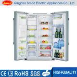 隣り合わせの両開きドア冷却装置氷メーカーが付いている霜冷却装置無し
