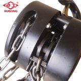 Bloque de cadena manual del alzamiento de cadena de la mano de 1 tonelada con Ce