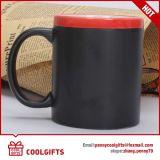 De matte Zwarte Mok van de Koffie van het Krijt Ceramische, Meaasage Mok, de Mok van het Bord