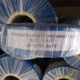 Bomba Layflat reforçado de PVC flexível de borracha de descarga de água com preço barato
