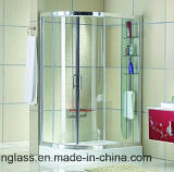 Glace Tempered de cabine de douche