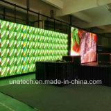 Innenmiete, die druckgegossenen Aluminiumbildschirmanzeige-PH3 farbenreichen LED Zeichen-Media-Bildschirm bekanntmacht