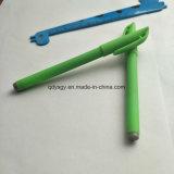 De groene Pen van het Gel met het Punt van het Staal van 0.7mm en Plastiek Eco