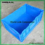 650*435*210mm de movimento de alta qualidade Caixa de recolhimento de transporte de plástico dobrável