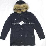 Revestimento / casaco de acolchoado de inverno para homens ao ar livre com casaco de pele