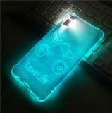 Ihone x 외침은 전화 쉘 한 쌍 창조적인 Ihone 8 가벼운 방탄 덮개 새로운 Ihone 8 더하기 조수 번쩍인다