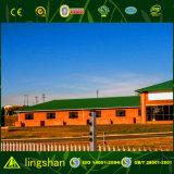 Taller/fábrica de acero prefabricados del edificio del bajo costo