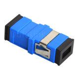 Adaptador ótico da fibra Sc-Upc azul